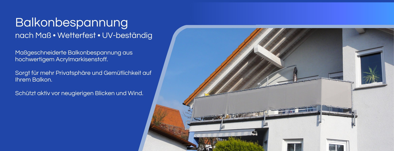 Balkonbespannung berlin
