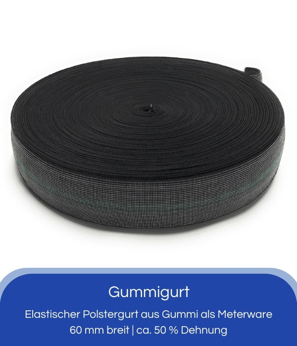 Gummigurt 60 mm