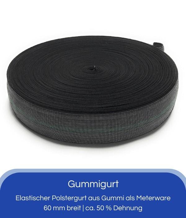 Gummigurt 60 mm