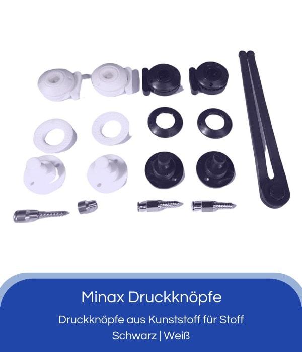Minax Druckknöpfe
