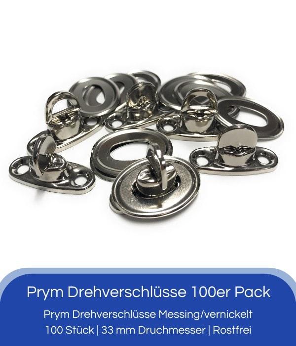 Prym rehverschlüsse 100er Pack
